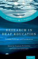 Research in Deaf Education