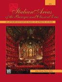 Italian Arias of the Baroque and Classical Eras: High Voice