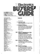 Electronics Buyers' Guide
