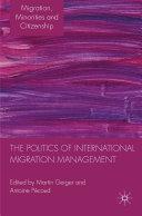 The Politics of International Migration Management Pdf/ePub eBook