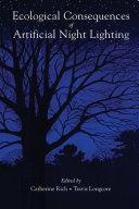 Pdf Ecological Consequences of Artificial Night Lighting Telecharger