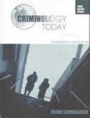 Criminology Today Book PDF