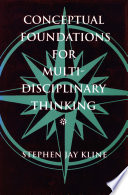 Conceptual Foundations for Multidisciplinary Thinking Book