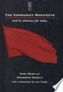 The Communist Manifesto and Its Relevance for Today