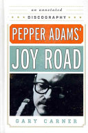 Pepper Adams  Joy Road