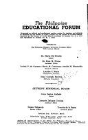 The Philippine Educational Forum