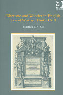Rhetoric and Wonder in English Travel Writing, 1560-1613