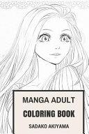 Manga Adult Coloring Book