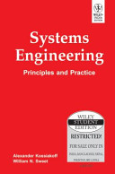 Systems Engineering: Principles And Practice