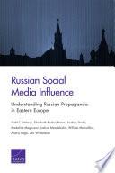 Russian Social Media Influence Book PDF