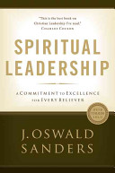 Spiritual Leadership Book Cover