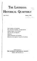 The Louisiana Historical Quarterly