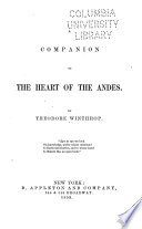 A Companion to the Heart of the Andes