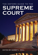 The Oxford Guide to the Supreme Court of the United States