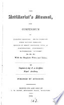 The artillerist s manual  and compendium of infantry exercise