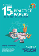 15 1 Practice Papers   Mathematics  Standard   CBSE Class 10 for 2021 Examination