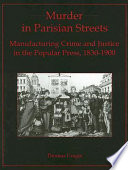 Murder in Parisian Streets Book PDF