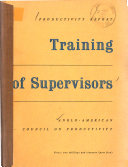 Training of Supervisors