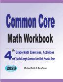 Common Core Math Workbook