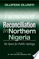 Reconciliation In Northern Nigeria