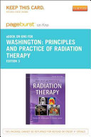Principles and Practice of Radiation Therapy Pageburst E book on Kno