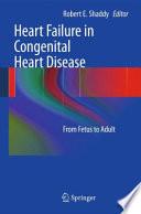 Heart Failure in Congenital Heart Disease:
