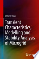 Transient Characteristics  Modelling and Stability Analysis of Microgrid Book