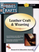 Leathercraft Weaving  REA s Hobbies Crafts Series
