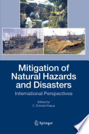 Mitigation Of Natural Hazards And Disasters Book PDF
