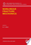 Nonlinear Fracture Mechanics