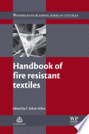 Handbook Of Fire Resistant Textiles Book PDF