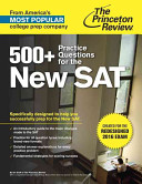500 Practice Questions For The New Sat Book PDF