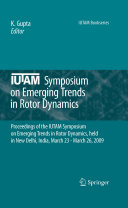 IUTAM Symposium on Emerging Trends in Rotor Dynamics