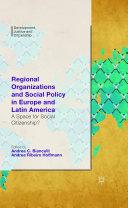 Regional Organizations and Social Policy in Europe and Latin America [Pdf/ePub] eBook