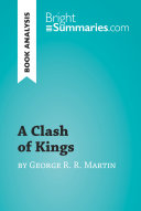 A Clash of Kings by George R  R  Martin  Book Analysis