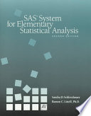 SAS System for Elementary Statistical Analysis