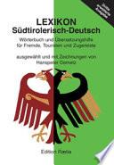 Lexikon Südtirolerisch-Deutsch