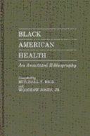 Black American Health Book PDF