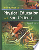 Cover of Introduction to Physical Education and Sport Science