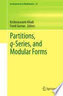 Partitions Q Series And Modular Forms