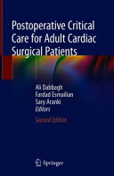 Postoperative Critical Care for Adult Cardiac Surgical Patients Book