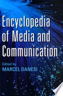 Cover of Encyclopedia of Media and Communication