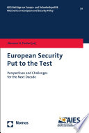 European Security Put to the Test