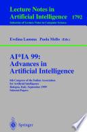 Ai Ia 99 Advances In Artificial Intelligence