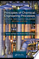 Principles of Chemical Engineering Processes