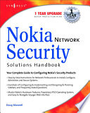 Nokia Network Security Solutions Handbook Book PDF