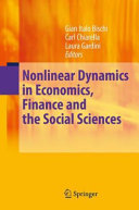 Nonlinear Dynamics in Economics  Finance and the Social Sciences