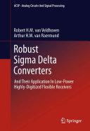 Robust Sigma Delta Converters