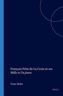 François Pétis de La Croix et ses Mille et un jours [Pdf/ePub] eBook