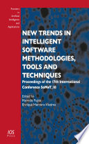 New Trends in Intelligent Software Methodologies  Tools and Techniques Book